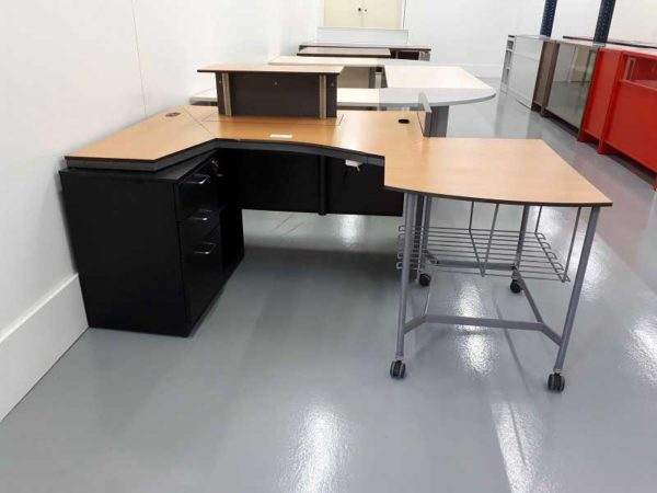 Mesas de oficina mesa marron