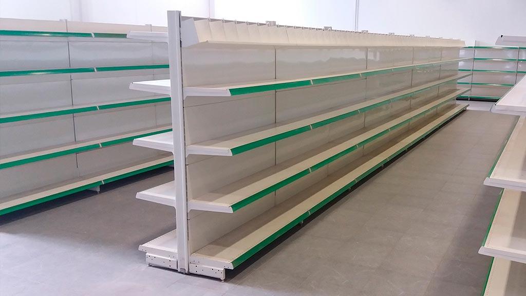 Murales y gondolas L2 verde
