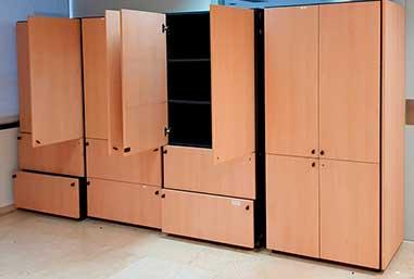 Estanterías de ocasión armarios para oficinas